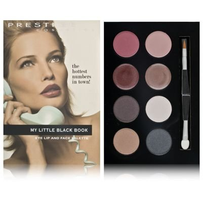 Prestige My Little Black Book Eye and Lip Face Palette 16g/0.55oz