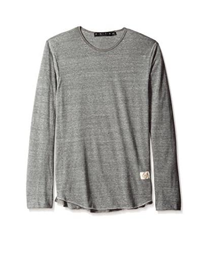 Kinetix Men's Cloud Break High Low Long Sleeve T-Shirt