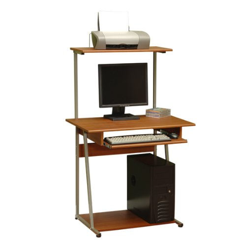 Buy Low Price Comfortable Tower Computer Desk – Colonial Maple Finish (B004XEH8C2)