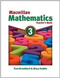 img - for Macmillan Mathematics 3: Teacher's Book book / textbook / text book