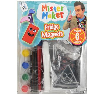 Make Fridge Magnets with Mister Maker