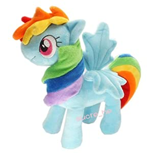 My Little Pony Friendship is Magic Figure Rainbow Dash Horse Plush Doll