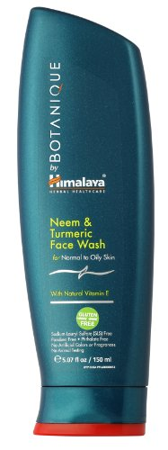 Himalaya Herbal Healthcare Neem & Tumeric Face Wash, 5.07Fluid Ounce Bottle Picture