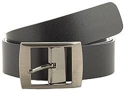 Jackblack Men's Leather Belt (SEVP021, Black, 36)