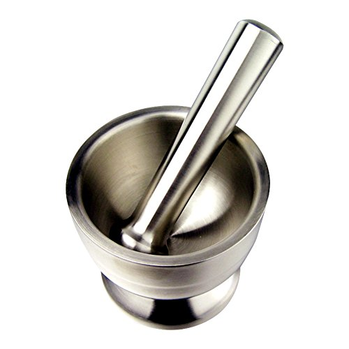 LianLe Home Basics Stainless Steel Mortar and Pestle