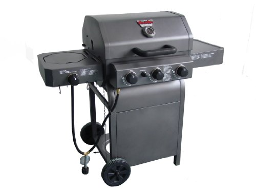 King-Griller by Char-Griller 3008 Grillin' Pro Gas Grills