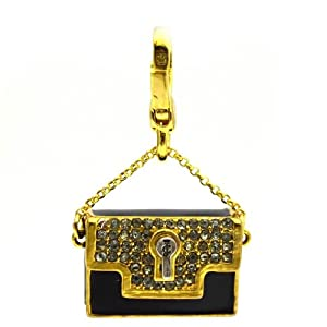 Juicy Couture Vanity Clutch Bag Charm, Gift Boxed