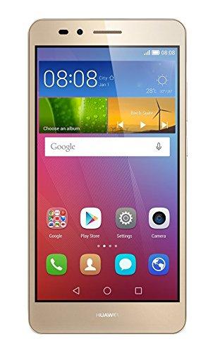 Huawei SIMフリースマートフォン GR5 16GB (Android 5.1/オクタコア/5.5inch/micro SIM) ゴールド KII-L22-GOLD O-SIMSET [OCN モバイル ONE 音声対応micro SIM付] KII-L22-GOLDO-SIMSET