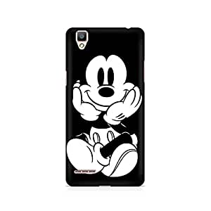 Mobicture Vintage Mickey Premium Printed Case For Oppo F1 plus