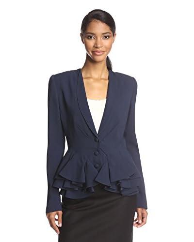 Zac Posen Women's Layered Peplum Jacket