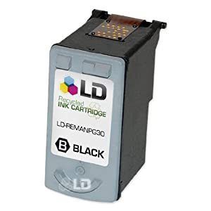 LD © Canon PG30 Pigment Black Remanufactured Inkjet Cartridge