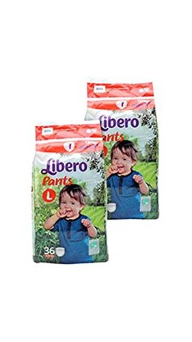 Image result for Libero Large Size Diaper Pants (36 Counts) Combo