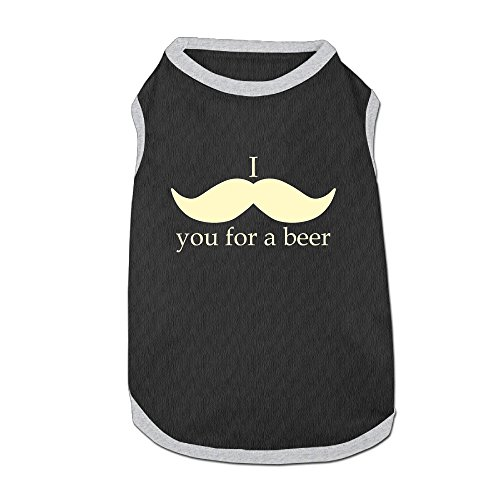 Costumes Dog Sweaters I ....you For A Beer Pet ClothingSoft And Warm (Beer Glasses 1664 compare prices)