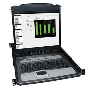 "Tripp Lite B020-U16-19-K 16-Port Console Kvm Switch W/ 19"" Lcd & 8 Ps2/Usb Combo Cables"