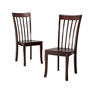 Wood Dining Chairs 2 Dolce Table Kitchen Kitchen Dining