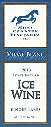 2007 Hunt Country Vidal Blanc Ice Wine Finger Lakes Estate Bottled 375 mL