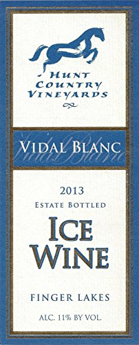 2007 Hunt Country Vidal Blanc Ice Wine Finger Lakes Estate Bottled 375Ml