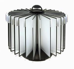 desq dokumentenhalter 360 rotation 4509 60 blatt schreibtisch und empfang schwarz. Black Bedroom Furniture Sets. Home Design Ideas