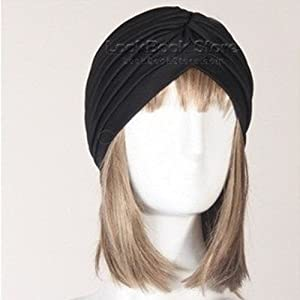 amazon com new women gathered knot pleated rib design turban300
