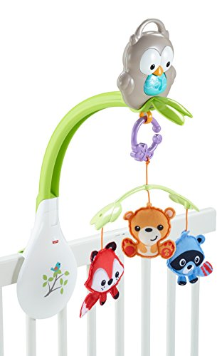 Fisher-Price Woodland Friends 3-in-1 Musical Mobile (Baby Boys Mobile compare prices)