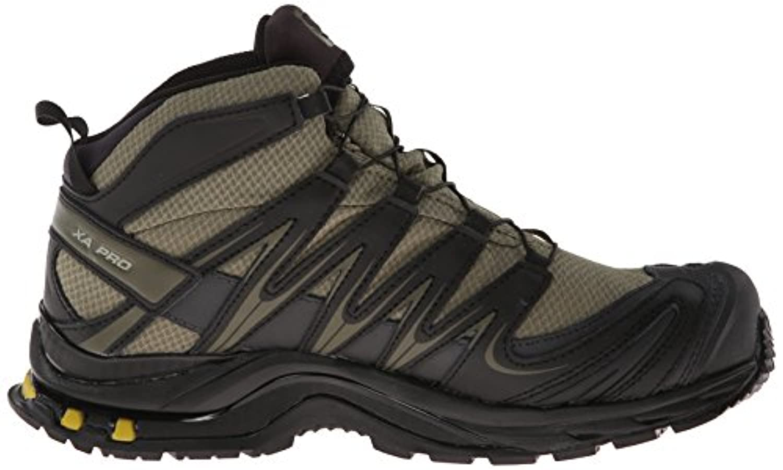 Salomon Men's XA Pro Mid GTX Hiking Shoe,Iguana GreenBlack