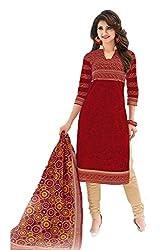 Gugaliya Women's Unstiched Superior Cotton FASHION SALWAR,KAMEEZ & DUPATTA Suit ( P527 )