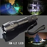 MECO XM-L2 5 Modes 2000LM Zoomable LED Flashlight Brand New Imported