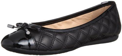 Geox Womens D Lola A Ballet Flats D42M4A0QL66C9999 Black 3 UK, 36 EU