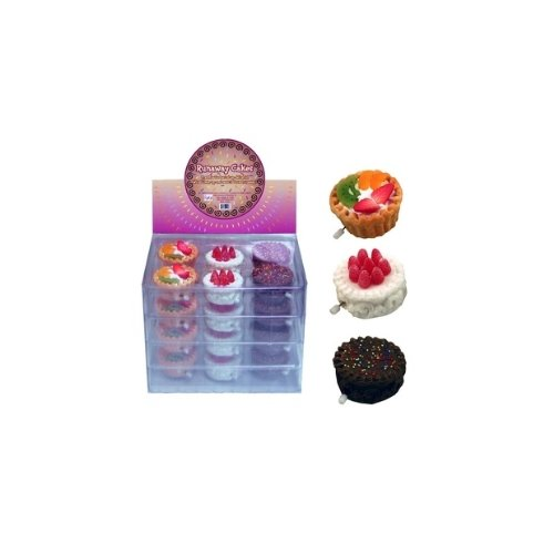 Runaway Wind up Cakes - Set of 3