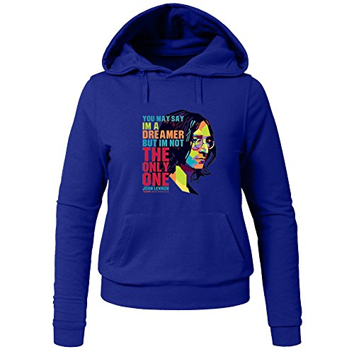 John Lennon The Beatles Iconic Roc For Ladies Womens Hoodies Sweatshirts Pullover Outlet