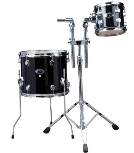 ddrum D2 2-Piece Add On Pack Brushed Silver