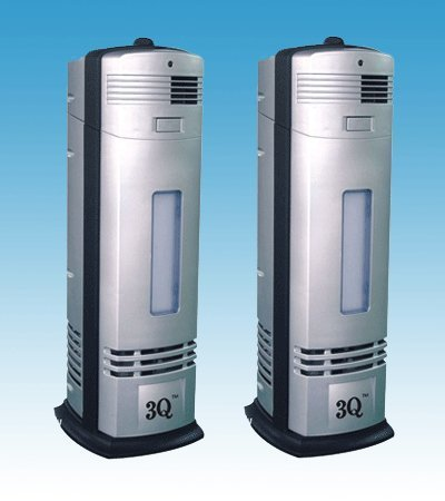 3q Ap04s Twin Pack Electrostrostatic Ionic Air Purifier