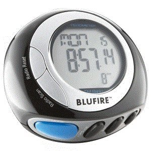 BluFire PD20 Digital Pedometer with FM Radio, Earphones, Calorie and Step Counter, 3D Technology
