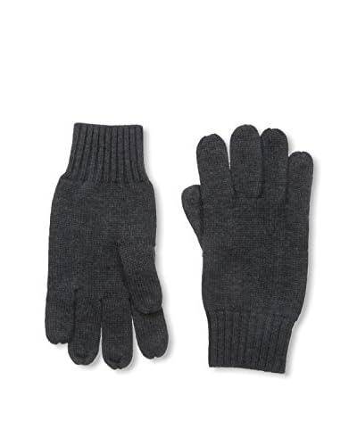 Portolano Men's Merino Tech Knit Glove, Charcoal