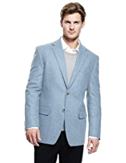 Collezione Wool Rich Winter Weight Melton 2 Button Jacket