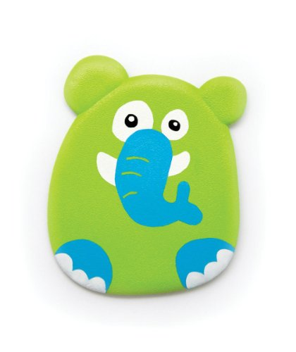 Small World Toys All About Baby Bath - Jungle Buddies Bathtub Appliques, Set of 6