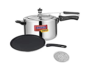 Kitchen And Cookware Induction Base Pressure Cooker With Non Stick Flat Tawa Non Stick Nonstick