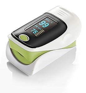 Oxymètre de pouls doigt digital fréquence cardiaque SPO2 - Couleur: Vert