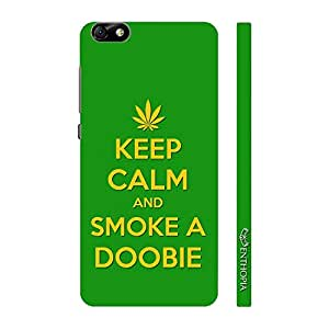 Enthopia Designer Hardshell Case SMOKE A DOOBIE Back Cover for Huawei Honor 4X