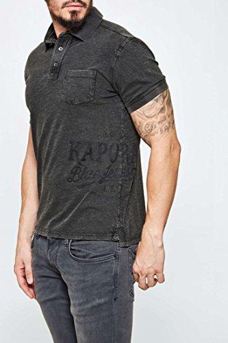 Kaporal Jeans - Kaporal Polo Sobo Dark Grey - XL, grigio