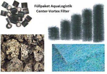 Füllpaket für Center-Vortex Filter C-115