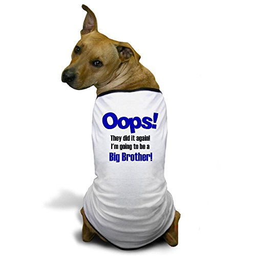 CafePress - Oops Big Brother Dog T-Shirt - Dog T-Shirt, Pet Clothing, Funny Dog Costume (Custom Dog Shirt compare prices)
