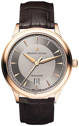 Maurice Lacroix Classic Automatic 18k Rose Gold Mens Watch lc6008-pg101-230