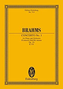 Piano Concerto No1 In D Minor Op 15 Miniature Score by Edition Eulenburg