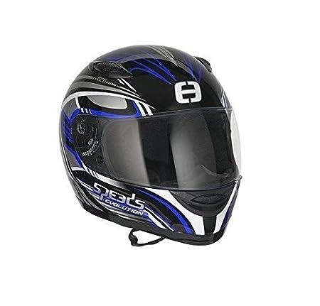 Speeds casque intégral motif evolution iI bleu