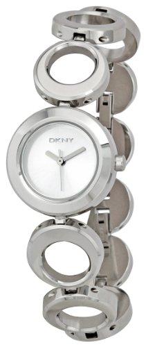 DKNY Women's NY3196 Crystal Stainless Steel Bracelet Watch