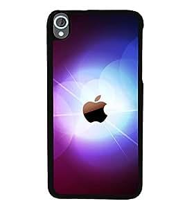 printtech Apple Glow Back Case Cover for HTC Desire 820::HTC Desire 820Q::HTC Desire 820S