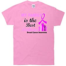 My Family Is The Best Medicine Breast Cancer Awareness T-Shirt
