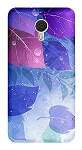 TrilMil Premium Design Back Cover Case For Meizu M3 Note