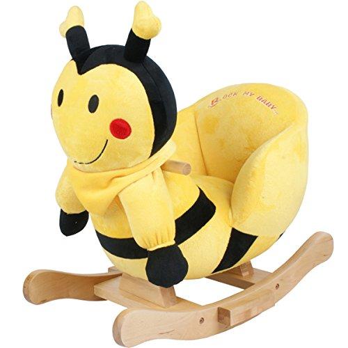 Plüsch Baby-Schaukel Biene, Metallkern, gute